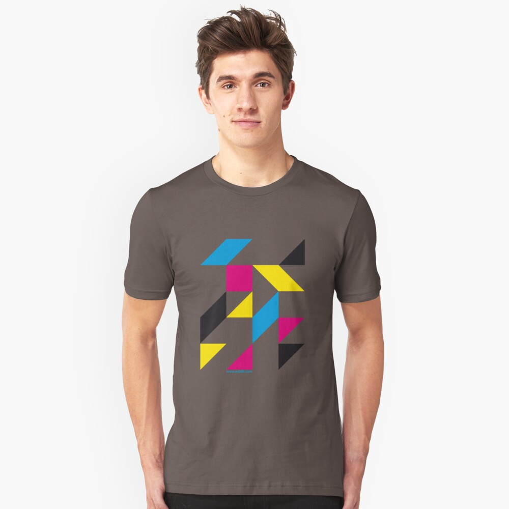 Tangram Slim Fit T-Shirt