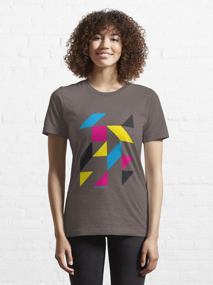 Alternate view of Tangram Essential T-Shirt
