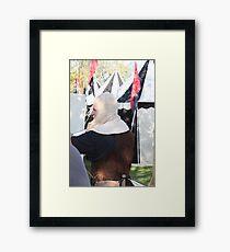 The Henchman! Framed Print