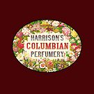 Harrisons Columbian Perfumery Vintage Label by pjwuebker
