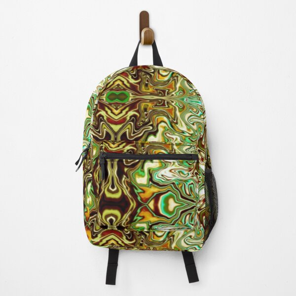 Green forms Backpack
