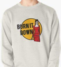 Shosanna Burns it Down Pullover