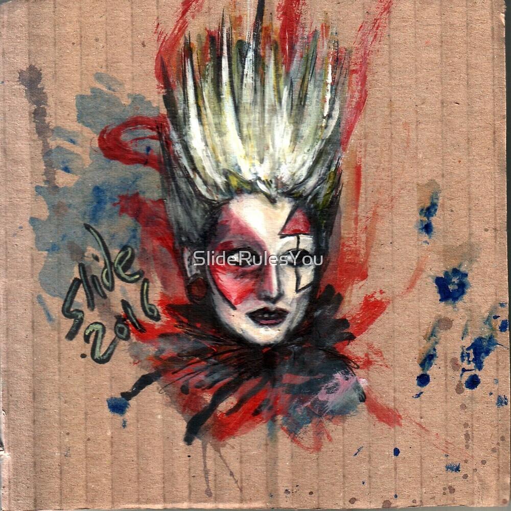 Jordan, Punk Icon by SlideRulesYou