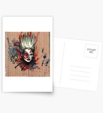 Jordan, Punk Icon Postcards