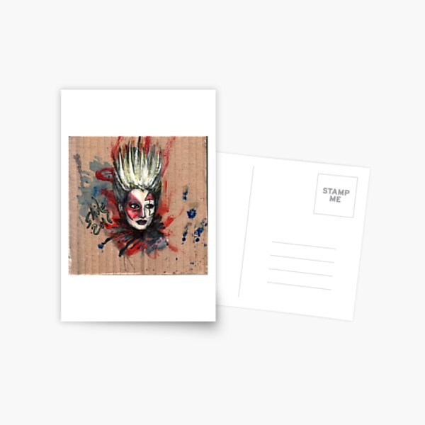 Jordan, Punk Icon Postcard