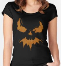 Villan Scarecrow  Women's Fitted Scoop T-Shirt