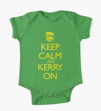 Keep Calm & Kerry On (grunge) Kids Clothes