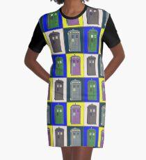 TIMEY WIMEY WARHOL TARDIS 2 Graphic T-Shirt Dress