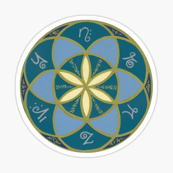 Seed of Life - Starseed Light Language Sticker