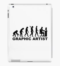 Evolution graphic artist iPad Case/Skin