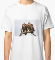 Vulture Couple Watching Out for a Meal 2 - Krüger National Park Classic T-Shirt