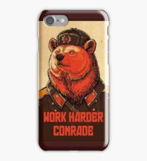 Work Harder Comrade iPhone Case/Skin