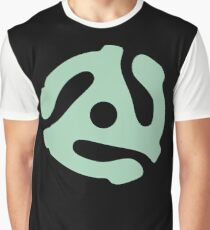 vinyl record green adapter Graphic T-Shirt