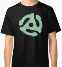 vinyl record green adapter Classic T-Shirt