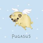 Pugasus by Katie Corrigan