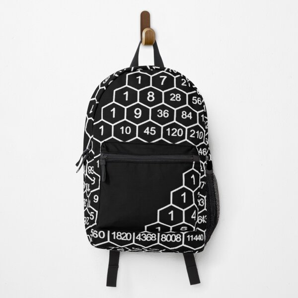 In mathematics, Pascal's triangle is a triangular array of the binomial coefficients Backpack