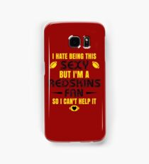 Redskins Fan Girl Quote Samsung Galaxy Case/Skin
