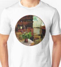 Wildflowers on Kitchen Table Unisex T-Shirt