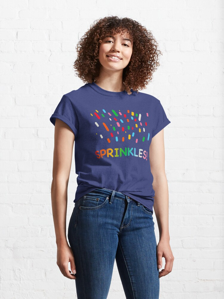 Alternate view of Sprinkles! Classic T-Shirt