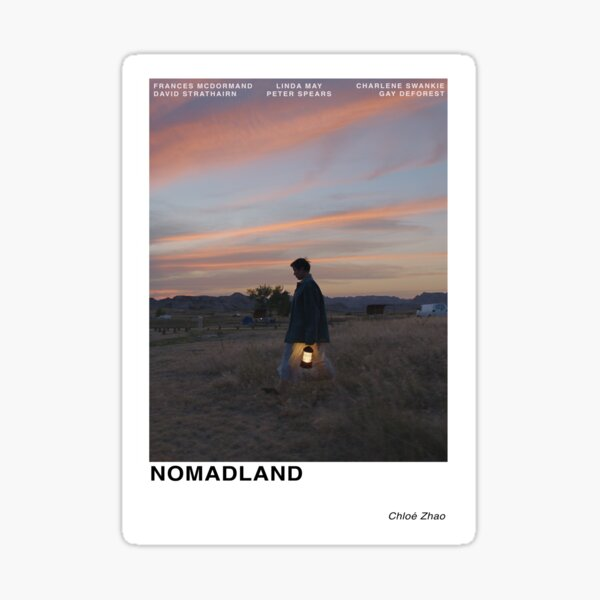 Nomadland Sticker