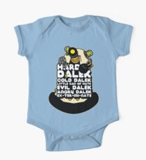 Hard Dalek Cold Dalek New Design Kids Clothes