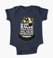 Hard Dalek Cold Dalek New Design One Piece - Short Sleeve