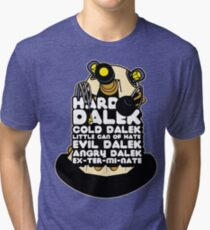 Hard Dalek Cold Dalek New Design Tri-blend T-Shirt