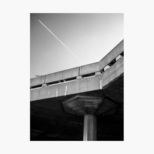 Concrete sky  Photographic Print