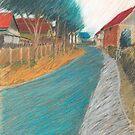 das blaue draussen by HannaAschenbach