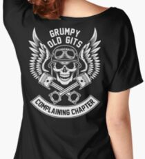 Grumpy Old Gits Complaining Chapter Women's Relaxed Fit T-Shirt