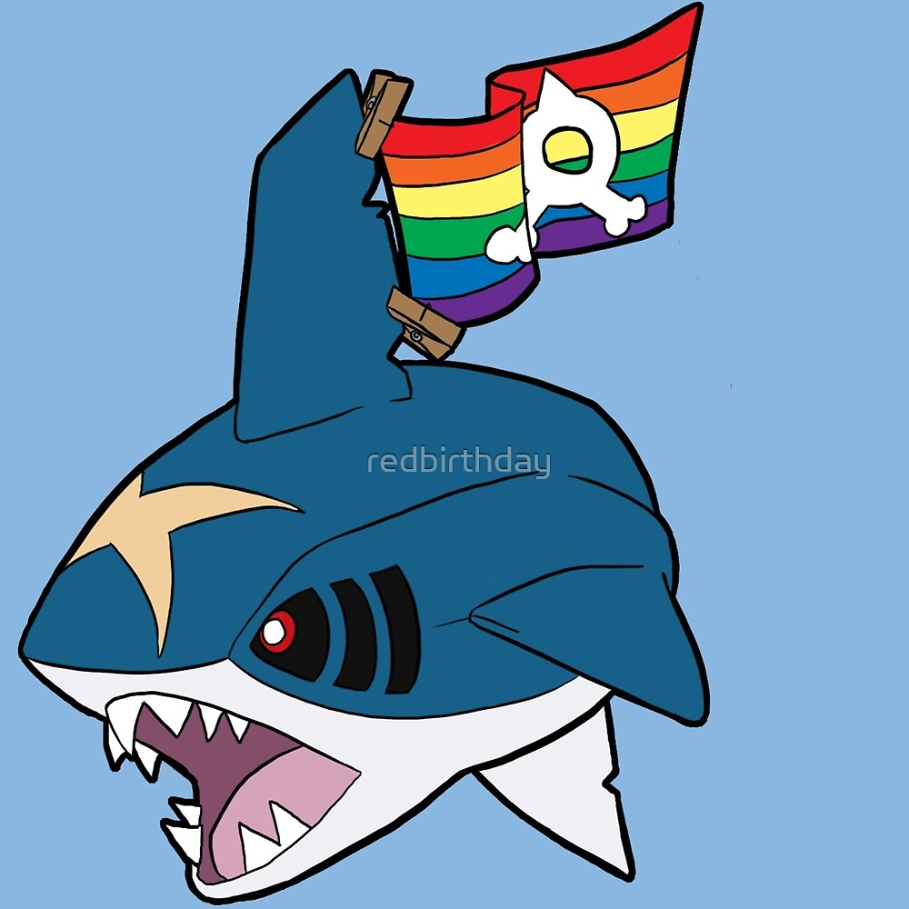 Team Queer Sharks by redbirthday