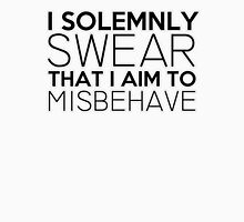 I Solemnly Swear That I Aim To Misbehave Unisex T-Shirt