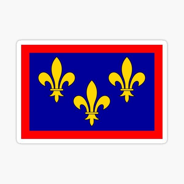 Anjou, France Sticker
