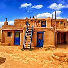Pueblo, Taos, New Mexico by fauselr