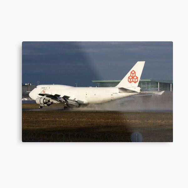 Cargolux 747 Metal Print