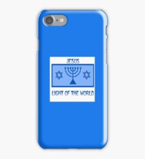 Light of the World, Jewish Symbols. iPhone Case/Skin