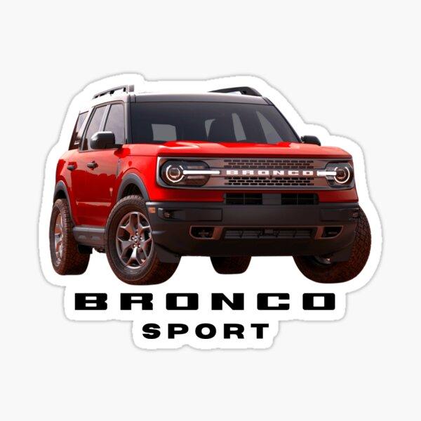 Ford Bronco Sport - Red Sticker