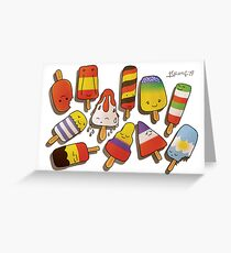 WORLD CUP 2014 LOLLIES Greeting Card