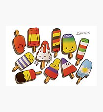 WORLD CUP 2014 LOLLIES Photographic Print