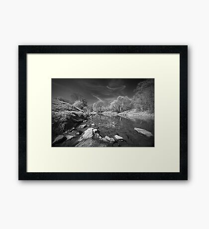 The Hodder in Spring Framed Print