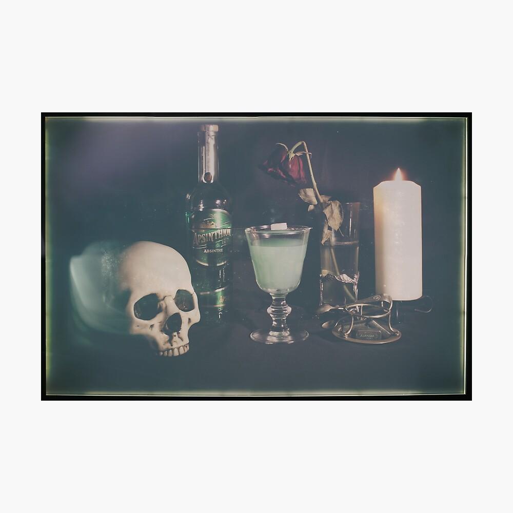 L'Absinthe C'est La Mort I Photographic Print