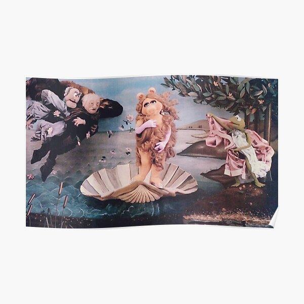 MISS PIGGY BIRTH OF VENUS Poster