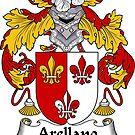 Arellano Coat of Arms/ Arellano Family Crest by William Martin