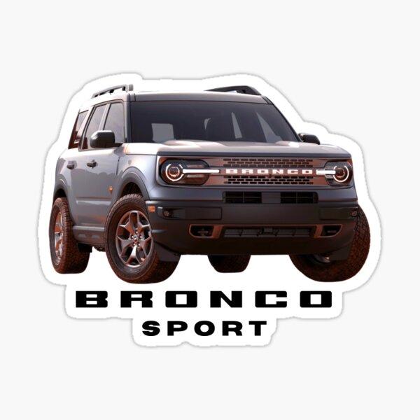Ford Bronco Sport - Silver Sticker