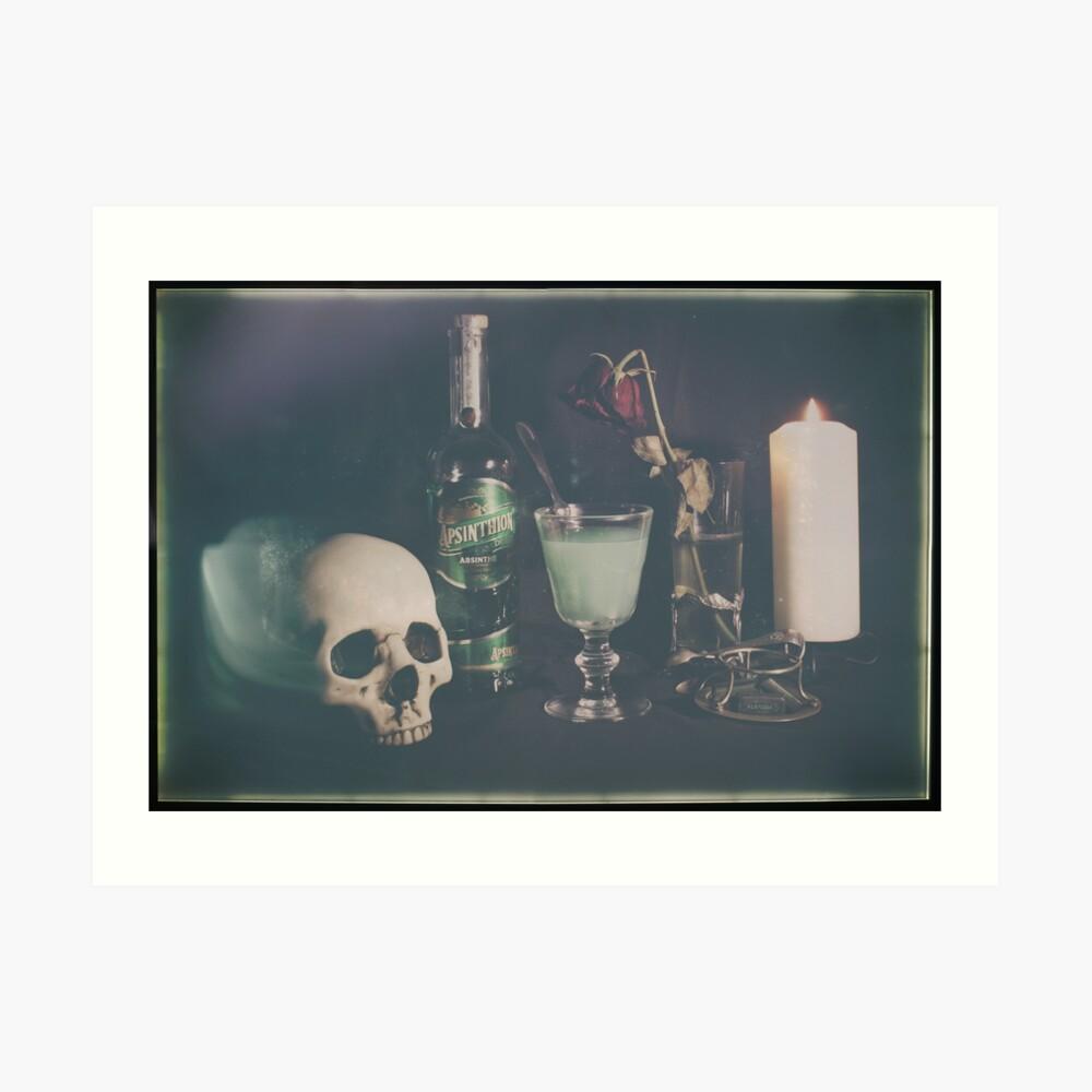 L'Absinthe C'est La Mort III Art Print