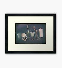 L'Absinthe C'est La Mort III Framed Print