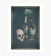 L'Absinthe C'est La Mort VI Art Print