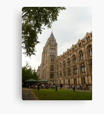 The Natural History Museum Building Canvas Print