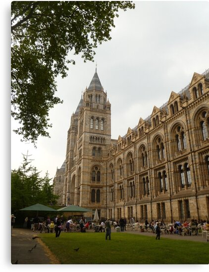 The Natural History Museum Building by Vicki Spindler (VHS Photography)