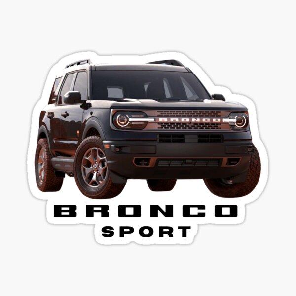 Ford Bronco Sport - Black Sticker